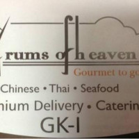 Drums Of Heaven Gourmet To Go