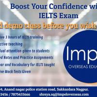 Professional IELTS Coaching   Target 8 + Bands   Impel Overseas Nagpur