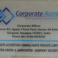 CORPORATE ACCRETION CONSULTANTS PRIVATE LIMITED Sector 49, Gurgaon