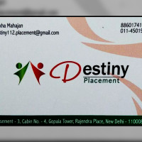Destiny Placement Patel Nagar, Delhi