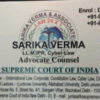 Law 24X7 Sarika Verma & Assocites Global Legal Solution Wazirabad, Delhi